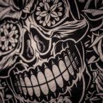 #804 Mexican skull