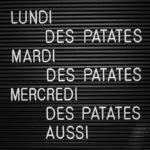 #1716 Des patates
